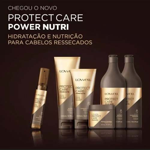 Shampoo Protect Care Power Nutri 240ml - Lowell