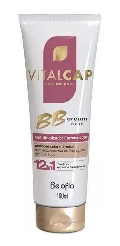 Bb Cream Hair Multinalizador Fortalecedor 100ml - Belo Fio