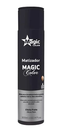 Matizador Tradicional Efeito Prata 300ml - Magic Color