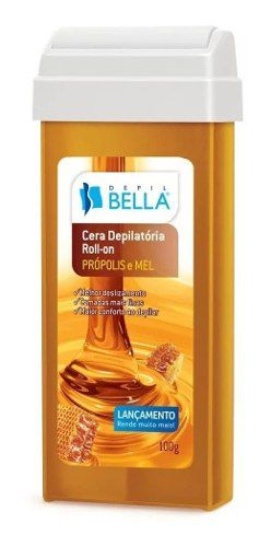 Depil Bella Cera Roll-on Propolis E Mel 100g