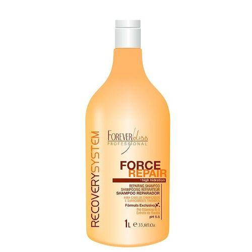 Force Repair Shampoo Reparador - 1 Litro -Forever Liss