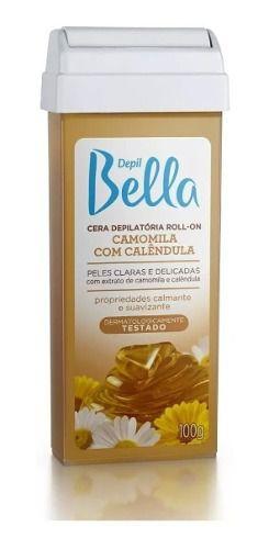 Depil Bella Cera Roll-on Camomila Com Calendula 100g