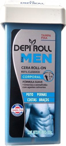 Cera Roll-on Men 100g Corporal - Depi Roll