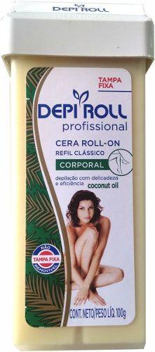 Cera Roll-on Coconut Oil 100g Corporal - Depi Roll