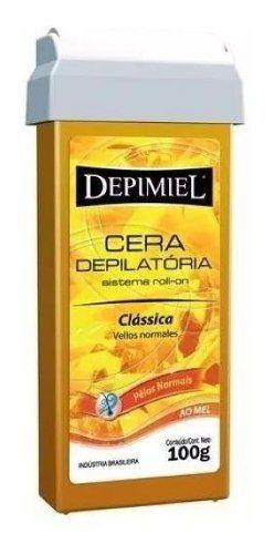 Cera Roll-on Mel 100g Classica Pelos Normais Depimiel