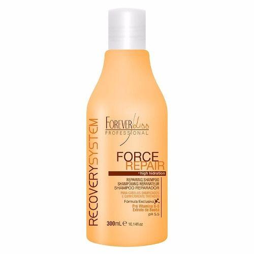 Forever Liss Force Repair Shampoo 300ml + Condicionador 200g
