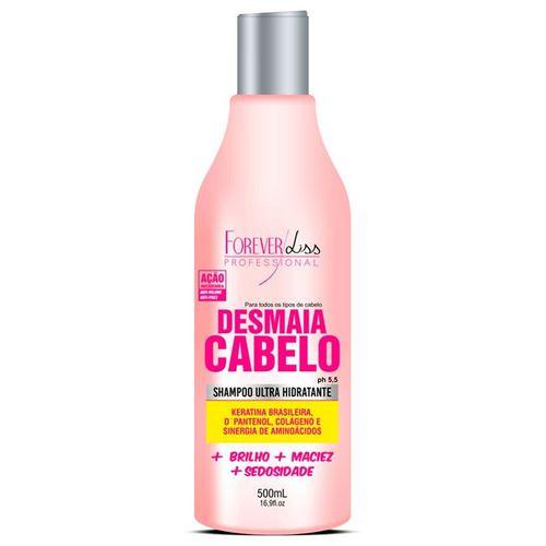 2 Shampoo Ultra Hidratante Desmaia Cabelo 500ml Forever Liss