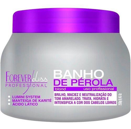 Forever Liss 2 Banho De Pérola Loiro Brilhante 250g
