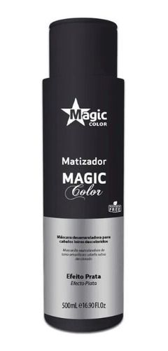 Magic Color Gloss 3d Tradicional - Efeito Prata 500ml