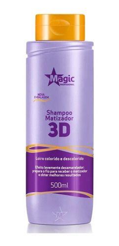 Magic Color Shampoo Matizador Desamarelador 500ml
