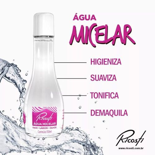 Agua Micelar 130 Ml - Ricosti