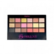 Paleta De Sombra Be Fabulous 18 Cores C/ Primer - Ruby Rose