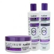 Kit Btx Platinum Shampoo Condicionador E Btx 250g - Plancton