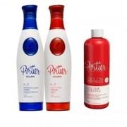 Escova Progressiva Portier Exclusive + Botox Liquido Ciclos