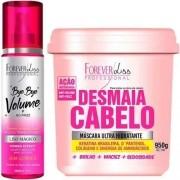Mascara Desmaia Cabelo 950g + Bye Bye Volume - Forever Liss