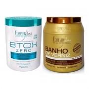 Btoxx Capilar Orgânico Sem Formol 1kg + Banho De Verniz 1kg