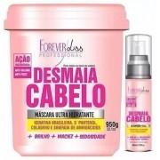 Desmaia Cabelo 950g + Sérum Desmaia Cabelo 60ml - Forever Liss