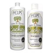 Felps Cachos Shampoo E Condicionador Azeite De Abacate 2x500ml