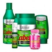 Kit Cresce Cabelo forever liss Mascara 1kg + Forever Hair - Todos os tipos de cabelos - Suave