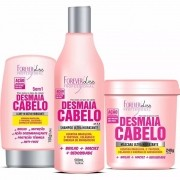 Kit Desmaia Cabelo Mascara 350g + Shampoo + Leave-in