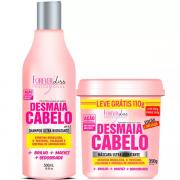 Kit Desmaia Cabelo Shampoo + Máscara 350g - Forever Liss