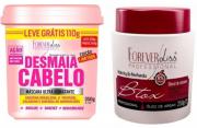 Kit Forever Liss - Desmaia Cabelo 350g + Btxx Capilar 250g