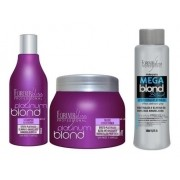 Kit Matizador, Mega Blond Black - Forever Liss