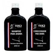 Kit Para Barba Shampoo E Condicionador - G10 Premium