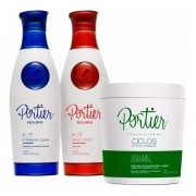 Kit Portier Escova Progressiva + Btox Sem Formol Unique 1kg