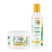 Kit Shampo Silicion Mix Bambú 236ml + Mascara Nutritiva Bambú