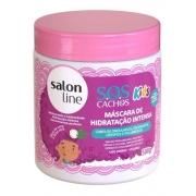 Máscara Hidratação Intensa Sos Cachos Kids 500g Salon Line