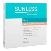 Po Compacto Fps50 Sunless 10g Farmax
