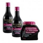 Theracap - Kit Manutenção Silicone E Queratina