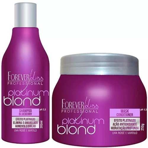 Kit Matizador Platinum Blond Shampoo + Mascara 250g