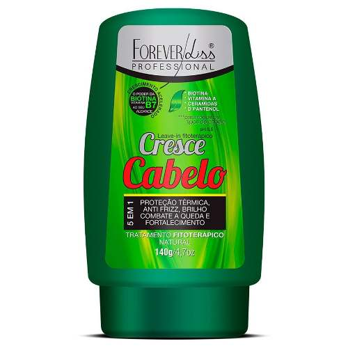 Forever Liss Leave-in Fitoterápico Cresce Cabelo 140g