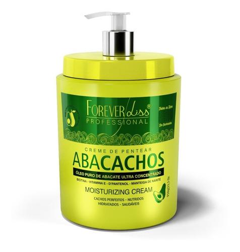 - 2 Máscara Desmaia Cabelo Abacachos + Leavein 950g Foreverlis