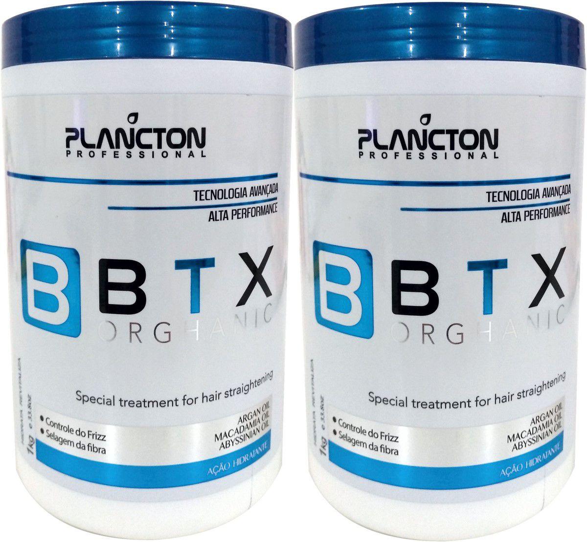 2 un Btx Organico 1kg Plancton - Sem Formol