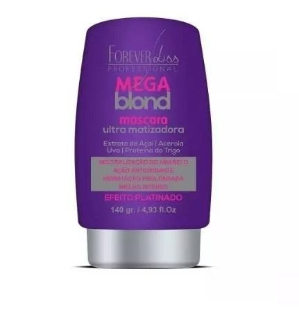 Matizador Mega Blond Ultra - Forever Liss 140gr