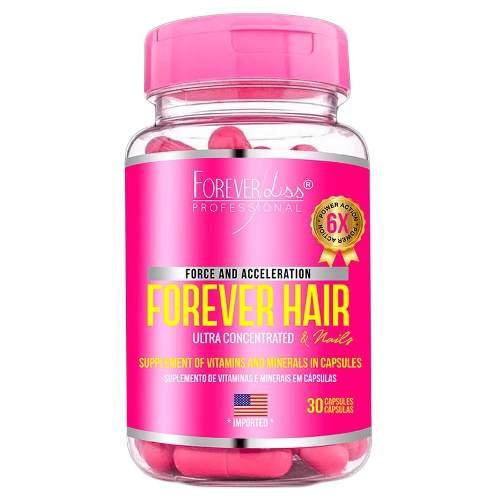 Forever Hair Crescimento Capilar 30 Cápsulas - Forever Liss