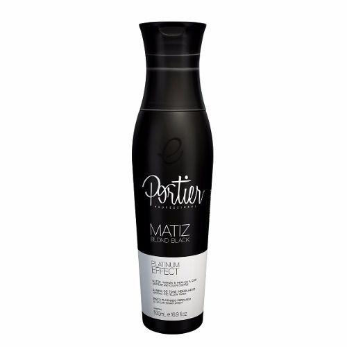 Portier Matizador Blond Black 500ml - Efeito Platinado
