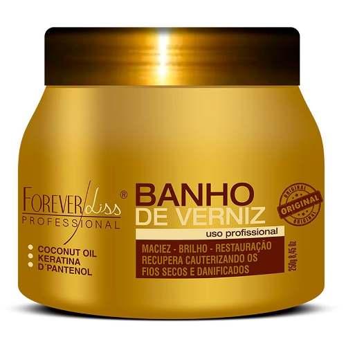 Kit Banho Verniz 250g + Anabolizante 240g + Uti 240g