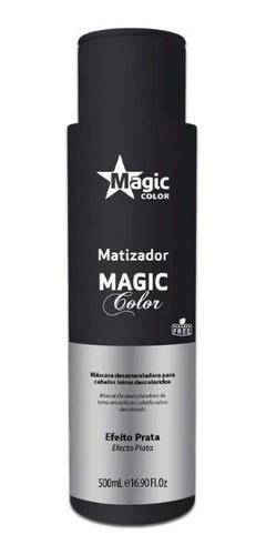3 Un Magic Color Gloss 3d Tradicional - Efeito Prata 500ml