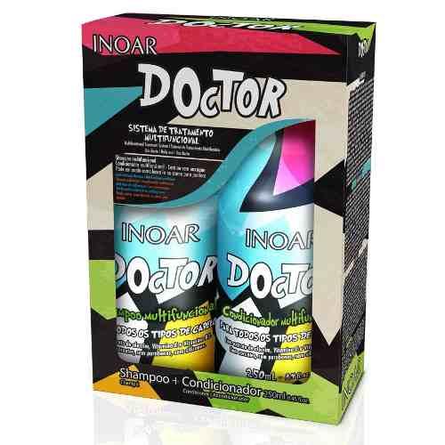 Inoar Kit Duo Doctor - Cabelos Danificados - 2x250ml
