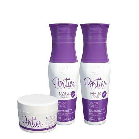 Kit Mascara Matiz Violet 250g + Shampoo + Condicionador