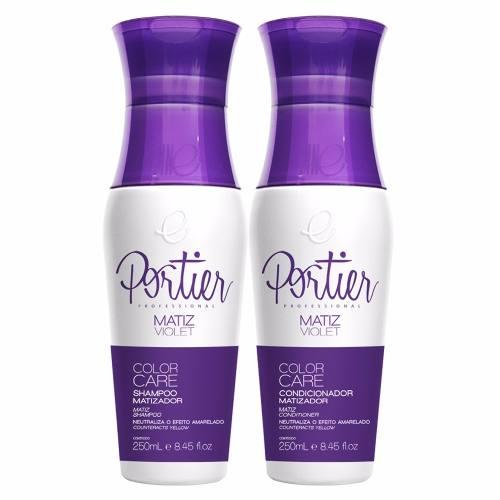 Kit Matizador Violet Shampoo 250ml + Condicionador 250ml