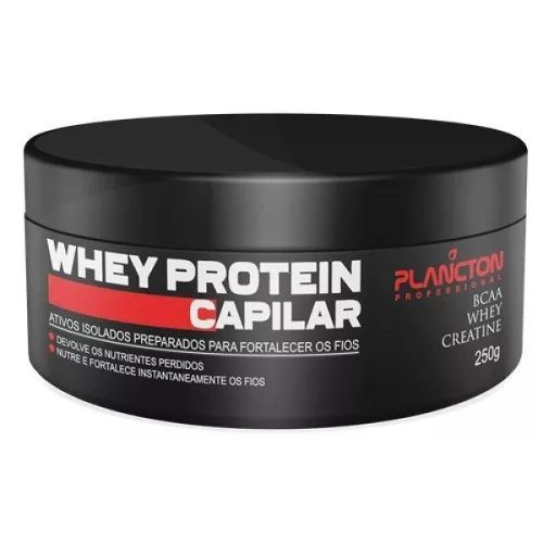 Mascara Anabolizante Capilar - Whey Protein 250g - Plancton