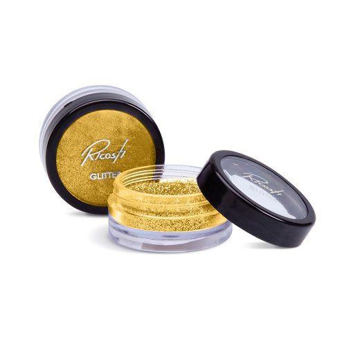 Sombra Glitter Ouro - Ricosti - Original