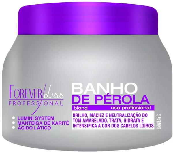 Banho De Pérola 250g + Anabolizante Capilar 240g