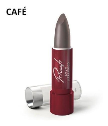 Batom Bastao Matte - Ricosti - Cor Cafe