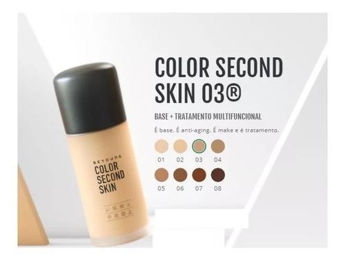 Beyoung Color Second Skin Cor 03 30g - Base Para Maquiagem